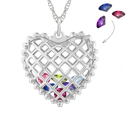 september birthstone product pendant claddagh necklace