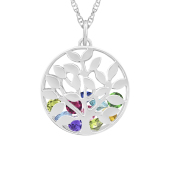 Family Tree Cage Necklace