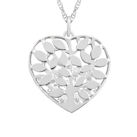 Family tree heart cage necklace family tree heart cage necklace aloadofball Images