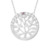Engravable Family Tree Necklace