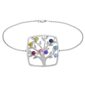 SQUARE TREE OF LIFE BRACELET