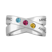 CROSSOVER PERSONALIZED RING