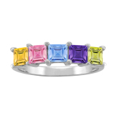 SQUARE PERSONALIZED RING (LARGE)
