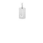 Small Initial Cut Out Tag (Chain Not Included)