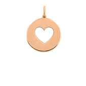 Heart Cut Out Disc (Chain not included)