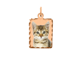 Rectangle Photo Necklace (Small)