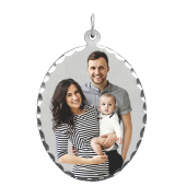 Oval Photo Necklace (Large)