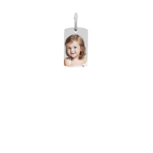Dog Tag Photo Necklace (Mini)