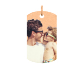 Dog Tag Photo Necklace (Large)